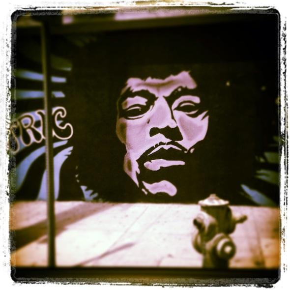 """""""Hendrix"""" (N. Hollywood, CA)"""