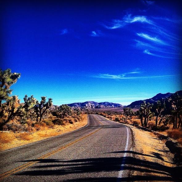 """""""Escape Route"""" (Colorado Desert, CA)"""