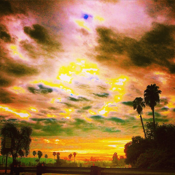 """Filtered Sky"" (Los Angeles, CA)"