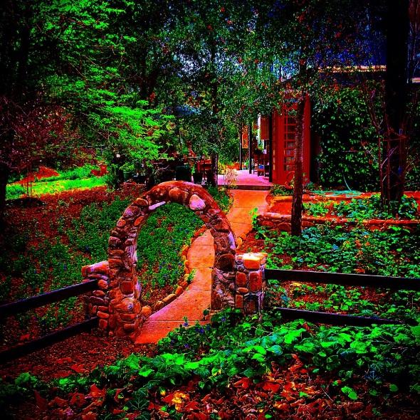 """""""English Garden"""" (Ojai, CA)"""