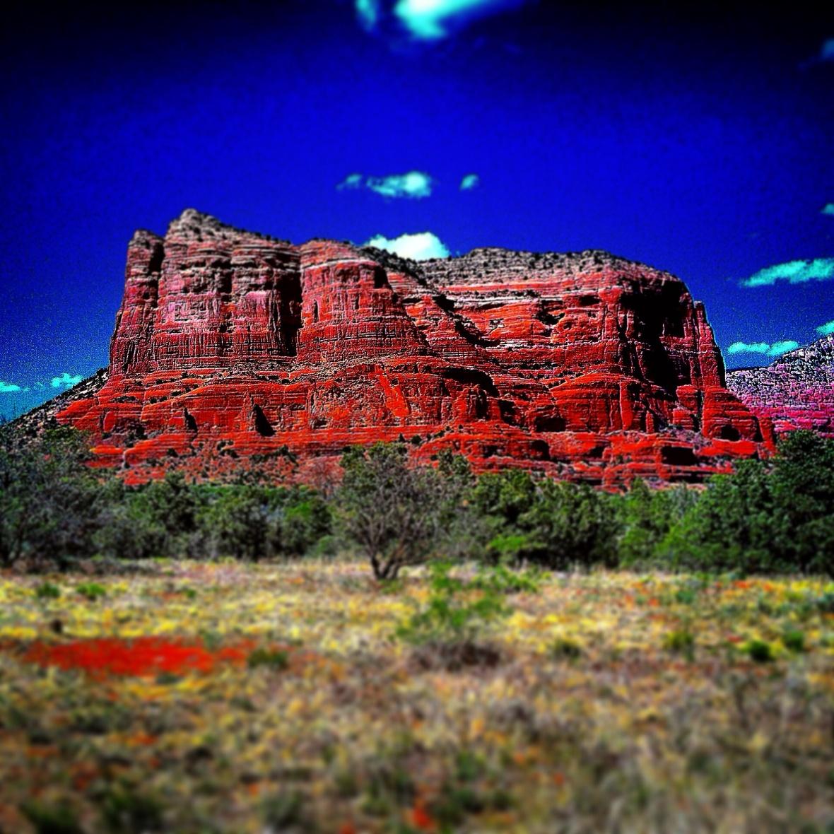 """Tranquil Rock"" (Arizona, USA"")"