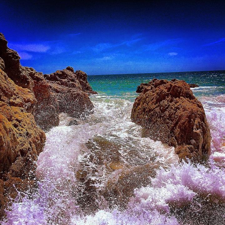 """Salt on the Rocks"" (Malibu, CA)"