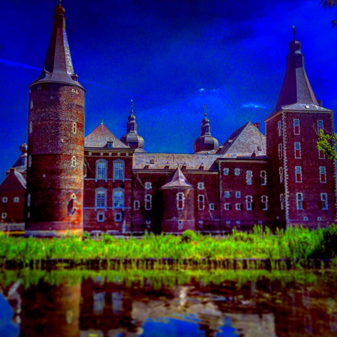 """Castle of Blue"" (The Netherlands)"