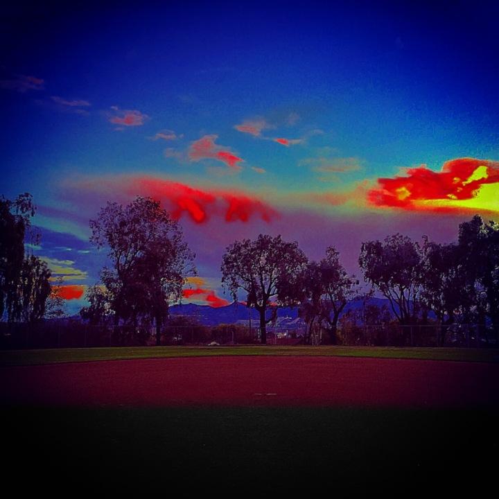 """Ballpark Beauty""(Burbank, CA)"