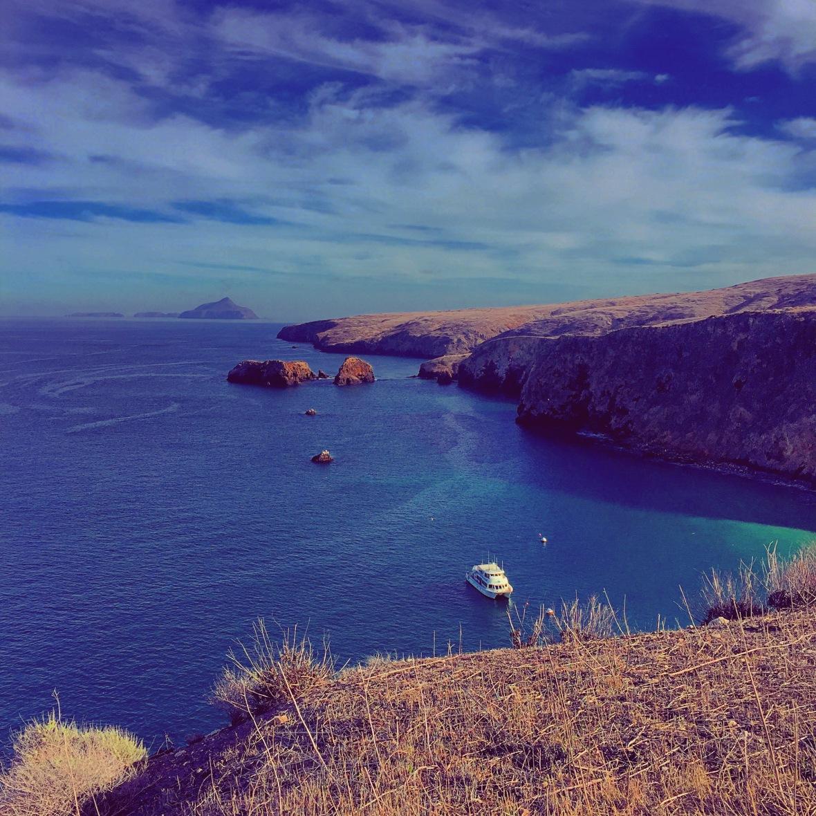"""""""My Dream of Peace"""" (Santa Cruz Island, CA)"""