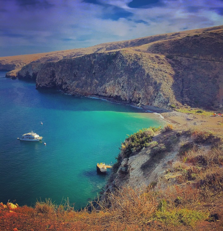 """Harbor of Solitude"" (Channel Islands, CA)"