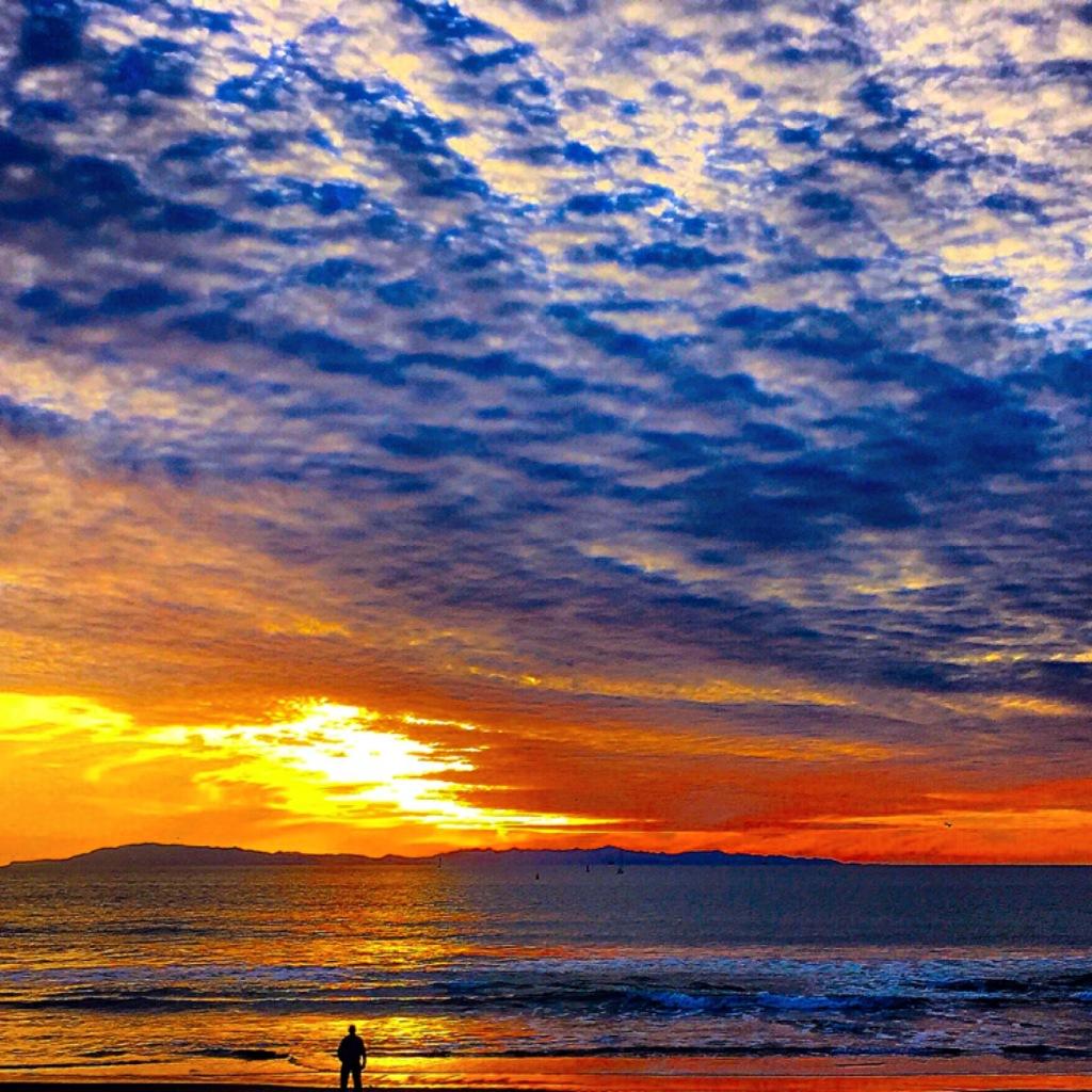 """""""A Glimpse into the Universe"""" ( Ventura Harbor, CA)"""