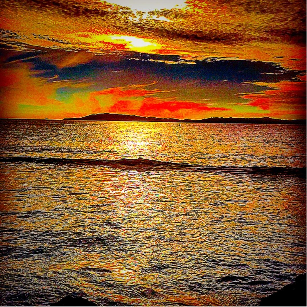 """""""Paint the Sky"""" (Santa Cruz Island, CA)"""