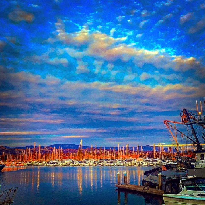 """The Night Awaits"" (Ventura Harbor, CA)"